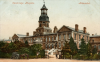 The Cambridge Hospital, from an illustration of c.1900.
