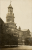 The Cambridge administration block and clocktower, c.1910.