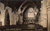 The interior of the Garrison Church of All Saints c.1911.